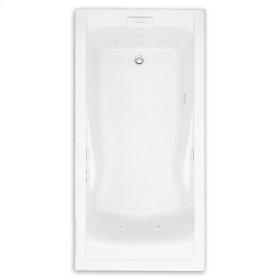 Evolution 60x36 inch Deep Soak EverClean Whirlpool - Linen