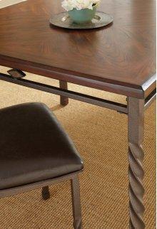 """Annabella Side Chair,Dark Brown 18"""" x 21"""" x 40"""""""