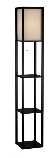 Wright Shelf Floor Lamp