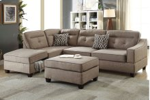 3-pcs Sectional Sofa