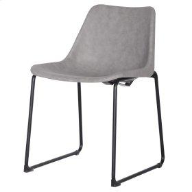 Delta PU ABS Chair, Vintage Mist Gray