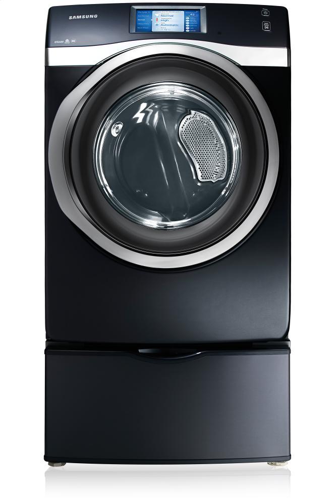 DV457EVGSGR 7.5 cu.ft Electric Front Load Dryer Charcoal