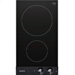 """Gaggenau200 series Vario induction cooktop 200 series Black control panel Width 12"""""""