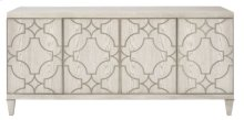 Domaine Blanc Entertainment Console in Dove White (374)