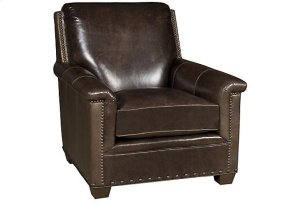 Michelle Leather Chair, Michelle Leather Ottoman