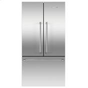 "Freestanding French Door Refrigerator Freezer, 36"", 20.1 cu ft, Ice"