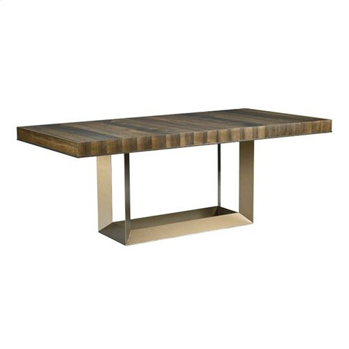 AD Modern Organics Bandon Rectangular Dining Table Complete