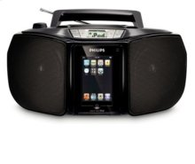 Plays CD and CD-R/RW docking entertainment system