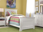Twin Panel Bed - Summer White Product Image