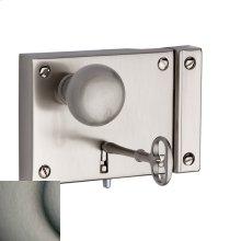 Antique Nickel 5704 Small Horizontal Rim Lock