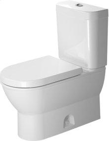White Nbsp; Two-piece Toilet, Water Saving 6-liter Flush