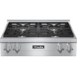 Kmr 1124 G - Rangetop With 4 Burners For Professional Applications