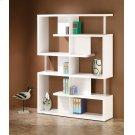 Transitional White Bookcase Product Image
