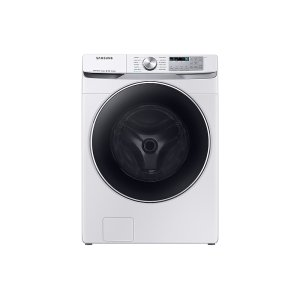 SamsungWF6300 4.5 cu. ft. Smart Front Load Washer with Super Speed in White