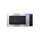 """Hertiage 24"""" Microwave Oven in Black Product Image"""