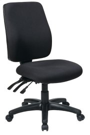 High Back Dual Function Ergonomic Chair with Ratchet Back Height Adjustment Product Image