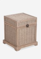 Ludwig Rattan Storage Box (19.5x19.5x21.6) Product Image