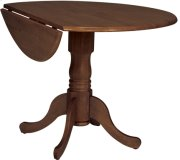 "42"" Complete Drop Leaf Table Espresso Product Image"