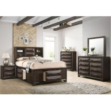 1035 Anthem Full Storage Bed with Dresser & Mirror
