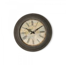 Circular Iron Wall Clock