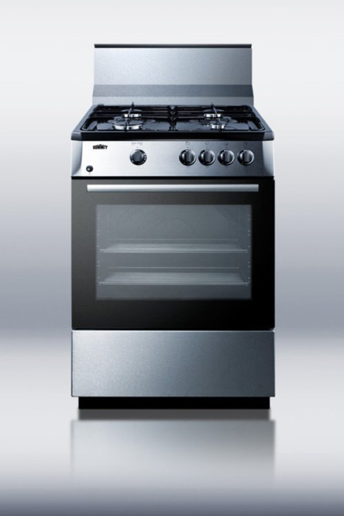 """10"""" High Backguard In Stainless Steel for Pro24g Gas Range"""