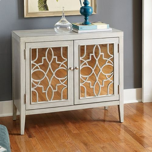 Hidden Treasures Mirrored Door Cabinet