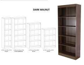 5 Shelf Bookcase