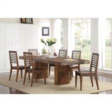 Modern Gatherings - Rectangular Dining Table Top - Brushed Acacia Finish