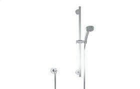 Contemporary Handshower w/Wall-Mounted Slide Bar
