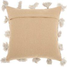 "Life Styles Dp005 Beige 18"" X 18"" Throw Pillows"