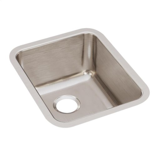 "Elkay Lustertone Classic Stainless Steel 16-1/2"" x 20-1/2"" x 9-7/8"", Single Bowl Undermount Sink"