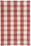 Nottingham Red Flat Woven Rugs