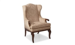 Continental Wingback Arm Chair - Weathered Nutmeg