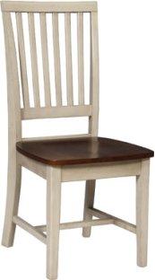 Mission Chair Espresso & Almond