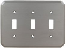 Triple Traditional Switchplate