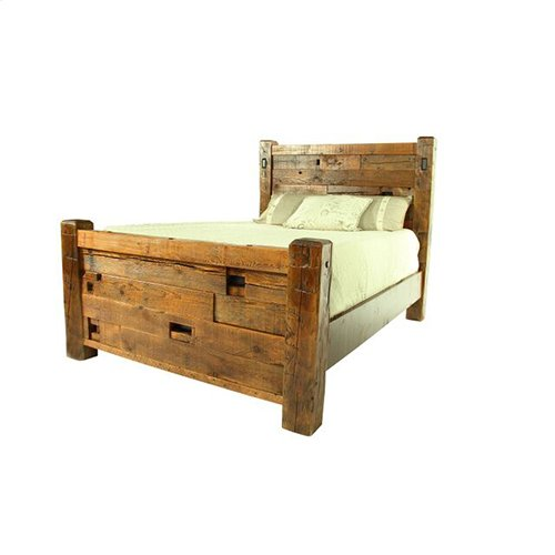 Western Traditions - Elite Bed - 25441 - King Bed (complete)