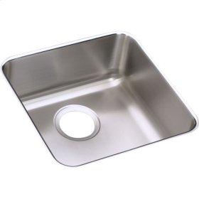 "Elkay Lustertone Classic Stainless Steel 14-1/2"" x 14-1/2"" x 7"", Single Bowl Undermount Sink"