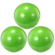 S/3 Decorative Balls,Lime