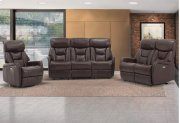 Easy Living Bonn 3 Piece Reclining Living Room Set with USB Product Image
