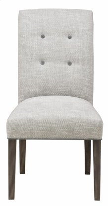 Butler Buttoned-Back Side Chair V288SB