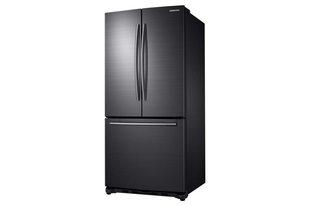 Rf18hfenbsgsamsung 18 Cu Ft Counter Depth French Door Refrigerator