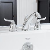 Princeton Deck-Mount Bathtub Faucet Trim Kit - Polished Chrome