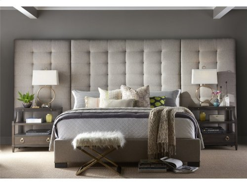 Camille King Bed with Panels