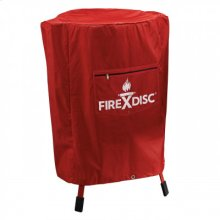 36 -inch FireDisc Fireman Red Cover