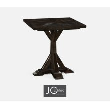 Dark Ale Square Side Table