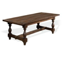 RED HOT BUY! Savannah Dining Table w/ 2 Leaves