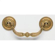 Decorative Drop Pull - Solid Brass