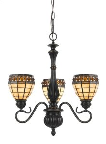 60W X 3 TIFFANY 3 LIGHT FIXTURE