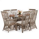 Rattan 7PC Dining Set in Weather Grey Product Image