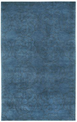 Maroc Dark Blue Hand Knotted Rugs